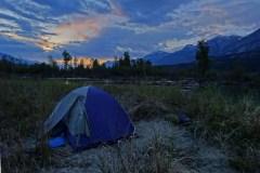 Columbia River camping
