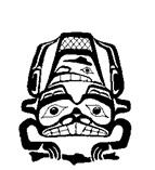 1980 Haida logo Bill McMullan