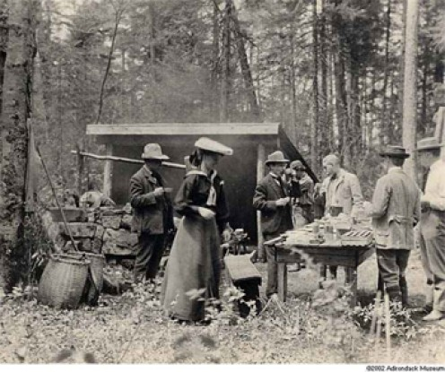 camping-in-1900s